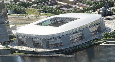 Feyenoord City impressie
